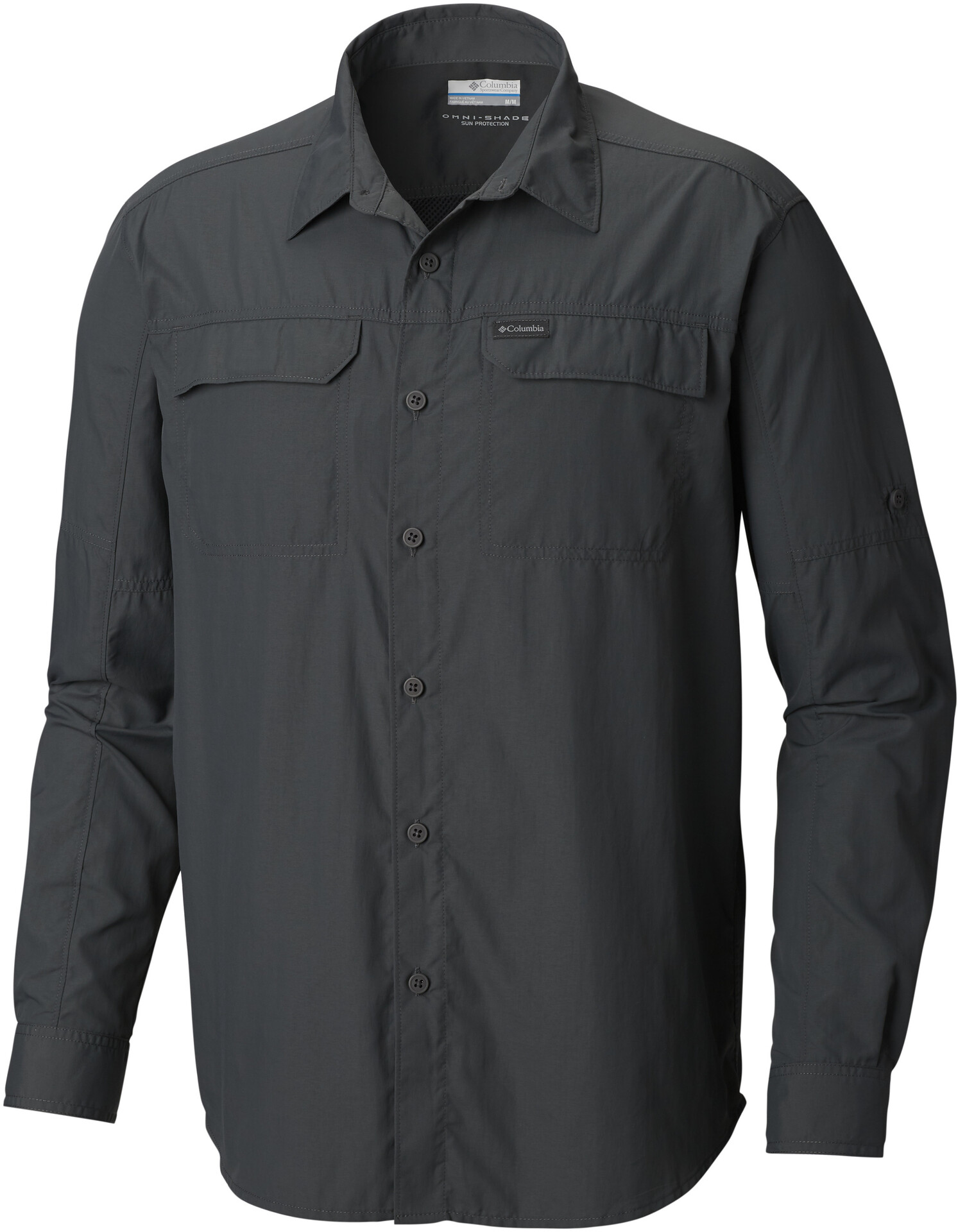 Columbia Silver Ridge 2.0 Chemise manches longues Homme, grill